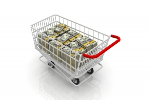 Shopping-Cart-Full-Money-Dollars-Bills